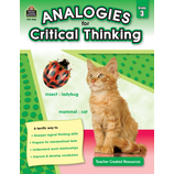 Analogies for Critical Thinking Grade 3