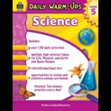 Daily Warm-Ups: Science Grade 5