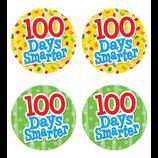100 Days Smarter Wear 'Em Badges