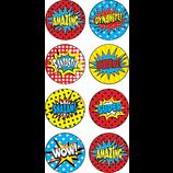 Superhero Mini Stickers