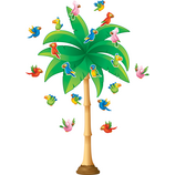 Tropical Trees Bulletin Board Display Set