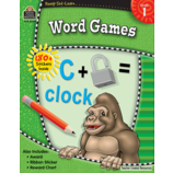 Ready-Set-Learn: Word Games Grade 1