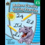 Ready-Set-Learn: Modern Cursive Writing Practice Grade 2-3