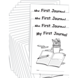 My Own Books: My First Journal, 25-pack