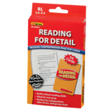 Reading for Detail Practice Cards Red Level