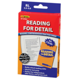 Reading for Detail Practice Cards Blue Level