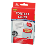 Context Clues Practice Cards Red Level