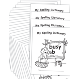 My Own Spelling Dictionary Book 25-Pack