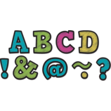 """Chalkboard Brights Bold Block 2"""" Magnetic Letters"""