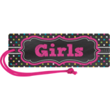 Chalkboard Brights Magnetic Girls Pass