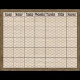 Home Sweet Classroom Chicken Wire Calendar Chart