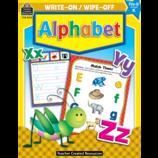 Alphabet Write-On Wipe-Off Book