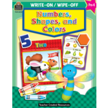 Numbers, Shapes and Colors Write-On Wipe-Off Book