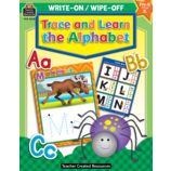 Trace and Learn the Alphabet Write-On Wipe-Off