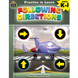 Practice to Learn: Following Directions Grades K-1