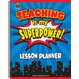 Teaching Is My Superpower Lesson Planner