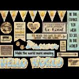 Travel the Map Mini Bulletin Board