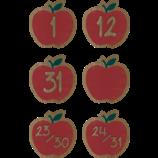 Home Sweet Classroom Apples Calendar Days