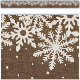 Home Sweet Classroom Winter Straight Border Trim