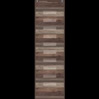 Dark Wood 10 Pocket File Storage Pocket Chart