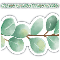 Eucalyptus Die Cut Border Trim