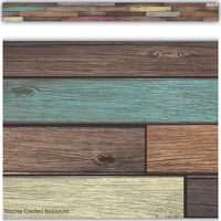 Reclaimed Wood Straight Border Trim