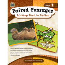 TCR2917 Paired Passages: Linking Fact to Fiction Grade 7