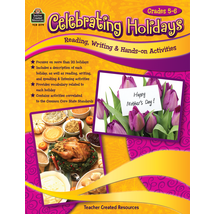 TCR3179 Celebrating Holidays: Reading, Writing & Hands-on Activities