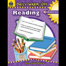 TCR3492 Daily Warm-Ups: Reading, Grade 6