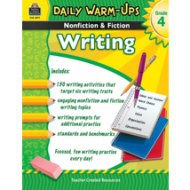 TCR3977 Daily Warm-Ups: Nonfiction & Fiction Writing Grade 4
