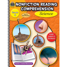 TCR8028 Nonfiction Reading Comprehension: Science, Grade 5