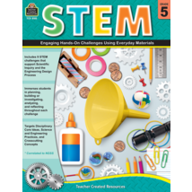 TCR8185 STEM: Engaging Hands-On Challenges Using Everyday Materials Grade 5