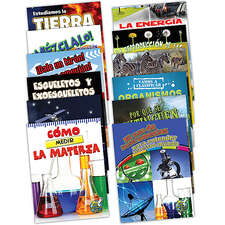 Mi biblioteca de ciencias Set 3-4 (set of 12)