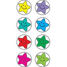 Happy Stars Mini Stickers