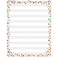 Confetti 10 Pocket Chart