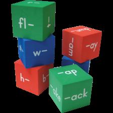 Foam Word Families Cubes