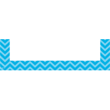 Aqua Chevron Magnetic Pockets - Small