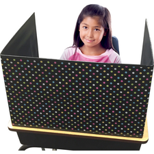 Chalkboard Brights Classroom Privacy Screen