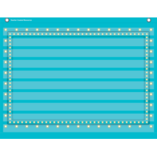Light Blue Marquee Mini Pocket Chart
