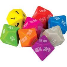 Place Value Dice 8-Pack
