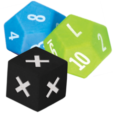 Multiplication Dice Set 3-Pack