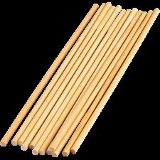 """STEM Basics:  1/4"""" Wooden Dowels - 12 Count"""