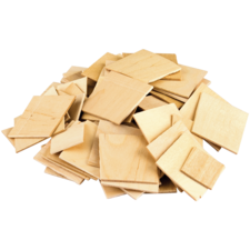 STEM Basics: Wooden Squares - 150 Count