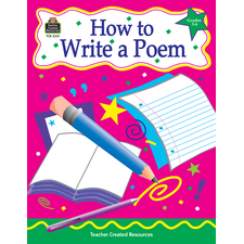 How to Write a Poem, Grades 3-6