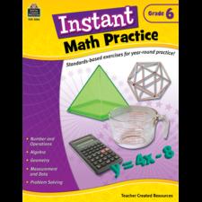 Instant Math Practice Grade 6