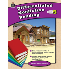 Differentiated Nonfiction Reading Grade 5