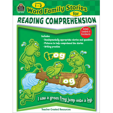 Word Family Stories for Reading Comprehension Grade 1-2