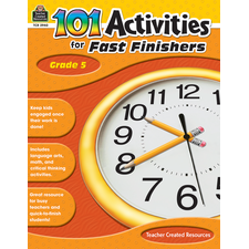 101 Activities For Fast Finishers Grade 5