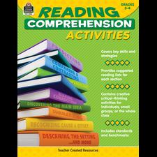 Reading Comprehension Activities Grade 3-4