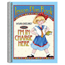 I'm in Charge Here Lesson Plan Book from Mary Engelbreit